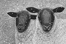 Wool Hooked Art / by Dee Anne Burnett