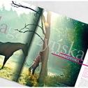 My layout designs from polish magazines about horses / More on http://www.misiukanis-artstudio.com/