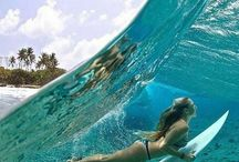 """Surf Soul / """"You can't stop the waves, but you can learn to surf."""""""