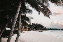 "Beach Side / ""Meet me where the sky touches the sea."""