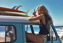 Beach Babe Goals / One day that'll be me...