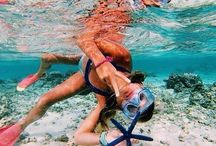 Snorkels & Goggles / Snorkels and goggles help explore and discover beautiful  reefs, fish and stunning sights.