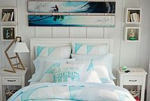 My Bedroom (Ideas) / Ideas for my bedroom, all ocean, beach and tropical themed.