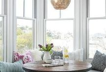 Bay Window Decor Inspiration / Find new ways to decorate and transform your bay window