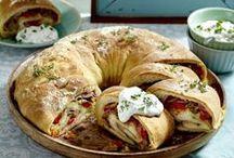 Rezepte mit Pizzateig / Pizzateig lässt sich nicht nur für Pizzaböden verwenden!