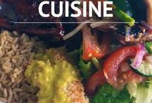 Worldly Cuisines / Delectable dishes from around the world!