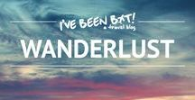 Wanderlust / A collection of travel-themed items.
