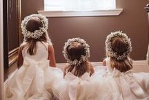 Kids + Weddings / A board for flower girls, outdoor weddings, and all things sweet and pure.