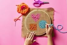 Embroidery & Crochet / A board for embroidery and crochet products, tutorials, and ideas.