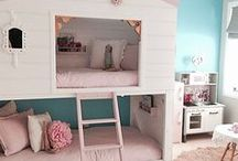 Kid's Bedroom Ideas / A board for little kid's bedrooms, girl's interiors, bunk beds, cradles, and more.