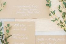 Invitations + Stationery / Wedding invitations are a big part of setting the tone for your wedding day. Search these invitation ideas to find your wedding invitation and details that cover everything from wedding invitation wording to wedding invitation design for every style of celebration.