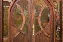 Our Custom Doors / Here are some doors custom made by us. Usually the process begins with a customer wanting something that is not readily available on the market. Sometimes it is a size or material and other times they just want something totally unique. They often come to us with a very specific vision of what they want. We take their great idea and make it into a great door. See some examples of our work below. #doornmore #exterior door #custom door