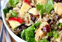 Salad Recipes / Fresh and healthy salad recipes including side salad recipes and entree salad recipes.  / by Iowa Girl Eats