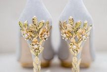 Wedding Shoes / The right wedding shoes can complete a bride's look from head to toe. Search here for the prettiest wedding shoes, from glamorous bridal shoes to vintage wedding shoes and even our favorite cowboy boots and Chuck Taylors.