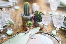 Table Décor / Wedding table decorations, table decor ideas and the prettiest wedding details for your reception. From modern to rustic and everything in between, these wedding ideas will take your reception to the next level.