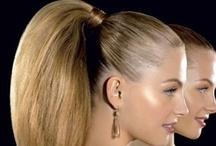 Hair, makeup and nails / #blonde #sexy #long #beautiful #up do #hair #nail #eyes #mac #makeup #professional #ash #ashblonde