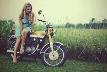 Motos and girls