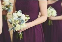Purple Wedding Details / From purple bridesmaid dresses to purple wedding shoes, there are so many wonderful things about a purple wedding. Find the best inspiration for your purple theme from flowers to favors and more.