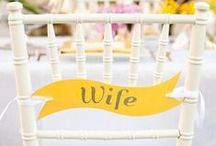 Yellow Wedding Details / Love yellow wedding details? We do too. Find the best inspiration for your yellow wedding, including gorgeous yellow wedding ideas and color palettes.