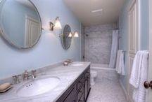 Girls' bathroom / by Catherine Norwood