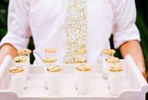 Wedding Menu / Be inspired to create your own wedding menu with these wedding food ideas, from wedding appetizers to wedding dinners.
