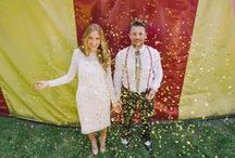 Wedding Exits / An unforgettable wedding exit is fun for you and your guests (plus is makes for some amazing wedding photos). Whether you're into bubbles, sparklers, petals or streamers, these wedding exit ideas are the perfect place to start.