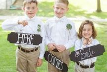 Flower Girl & Ring Bearer / Don't forget the cutest part of your wedding party: flower girls and ring bearers. Here's where we're saving the cutest flower girl dresses, flower girl shoes and ring bearer pillows, not to mention flower girl baskets and ring bearer outfits.