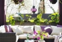 Outdoor Decor / For the relaxing summer days and STAR filled evenings...