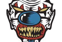 Custom Psycho Clown Guitar Picks / Hot Picks USA Custom Psycho Clown Guitar Picks
