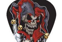 Custom Lethal Threat Guitar Picks / Hot Picks USA Custom Lethal Threat Guitar Picks