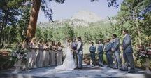 Colorado Weddings / Plan a mountain wedding in the heart of the Rockies or head to Denver for an urban event. No matter what style of wedding you have your heart set on, these Colorado venues and Colorado wedding photographers will help make your dreams reality.