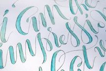Just My Type! / Gorgeous, gorgeous fonts.