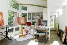 Art Studio Envy / dreamy spaces and creative places