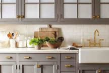 Kitchens / Elements and decor inspiration that can make a kitchen dreamy!