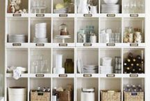 Get Organized! / Inspiration for keeping your life as organized and as stress free in the process as possible!