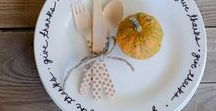 Thanksgiving Recipes and Decor / Fun fall and Thanksgiving crafts for children, recipes, treats and more inspiration to enjoy the season!