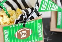 Super Bowl Recipes and Decor / Fun recipes and ideas for Super Bowl!