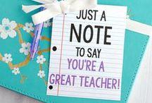 Teacher Appreciation Gifts / Ideas for teacher gifts, teacher appreciation gifts, teacher appreciation week, DIY teacher gifts and more!
