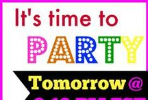 Promo Parties & Giveaways / I love parties! Especially book parties... & giveaways. FUN!!!
