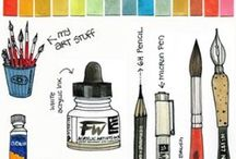 Art - my tips / tips for watercolor, drawing...