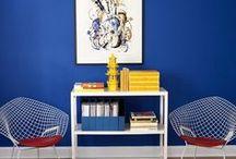 Pantone 19-3955: Royal Blue / Pantone 19-3955: Royal Blue