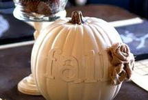 Fall: Halloween and Thanksgiving / Projects that are perfect for the chilly Fall season.