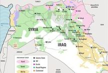 Syraq / Maps related to Syria and Iraq / by Mantas Dirgėla