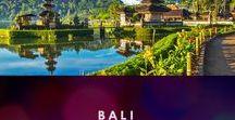 Bali / Bali travel inspiration!