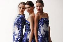 Blue & White Fashion Apparel