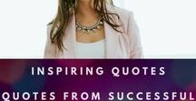 Inspiring Quotes | Quotes from Successful Business Owners and Coaches / These coaches and business owners have built solid and sustainable businesses.  Here, we'll share their advice for building and sustaining a business, as well as their lifestyle and habits that make their success possible.  Everything from how to start your business from the ground up to how to turn a failed coaching program into a six figure business.  #marketing #coaching #digitalmarketing #businesstips #businesswoman #womeninbusiness #business #femaleentrepreneur #entrepreneur