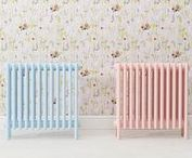 Bisque Pink Radiators and Pink Interiors