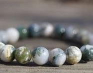 Nature Crystals / Handmade Beads Bracelets