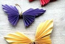 paper deco / Learn paper decoration to add a little ingenuity to your home.