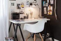 Arbeitszimmer - Interior / Auf diesem Board findest du nicht nur Inspirationen zur Einrichtung und Gestaltung deines Arbeitsplatzes, sondern auch DIY Ideen mit denen du deinen Arbeitsplatz verschönern oder organisieren kannst.